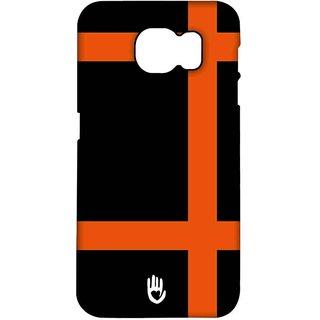 KR Orange Checks - Pro Case For Samsung S7 Edge