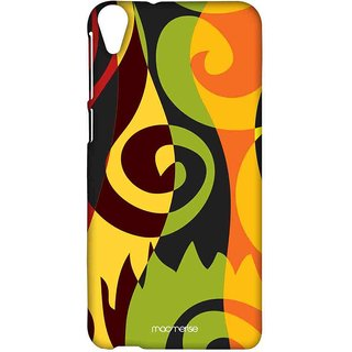 Rasta Patterns - Sublime Case For HTC Desire 820