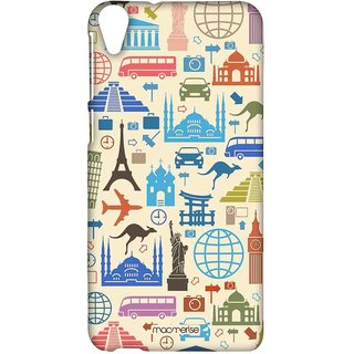 Travel Lover - Sublime Case For HTC Desire 820