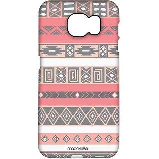 Peach Aztec - Pro Case For Samsung S7 Edge