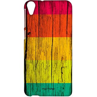 Wood Stripes Neon - Sublime Case For HTC Desire 820