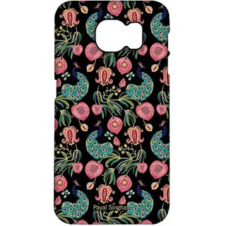 Payal Singhal Anaar And Mor Black - Pro Case For Samsung S7