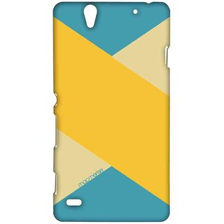 Mustard Stripes - Sublime Case For Sony Xperia C4