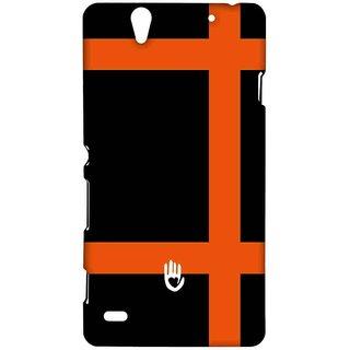 KR Orange Checks - Sublime Case For Sony Xperia C4