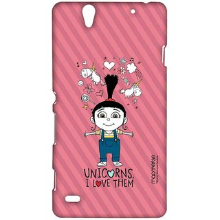 Agnes Unicorn Love - Sublime Case For Sony Xperia C4