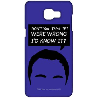 Sheldon Facts  - Sublime Case For Samsung A9