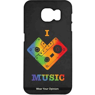 I Love Music - Pro Case For Samsung S7 Edge