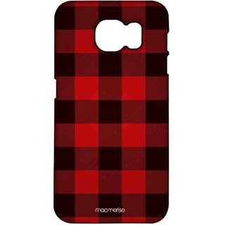 Checkmate Red - Pro Case For Samsung S7 Edge