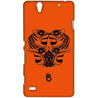 KR Orange Tiger - Sublime Case For Sony Xperia C4