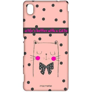 Cat Love - Sublime Case For Sony Xperia M4 Aqua