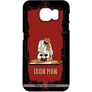 Iron Man - Pro Case For Samsung S7 Edge