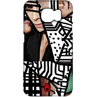 KR Black Abstract - Pro Case For Samsung S7 Edge