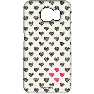 Sketchy Hearts - Pro Case For Samsung S7 Edge