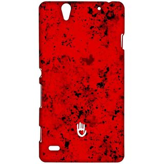 KR Red Blotch - Sublime Case For Sony Xperia C4