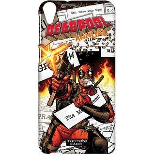 Comic Deadpool - Sublime Case For HTC Desire 820