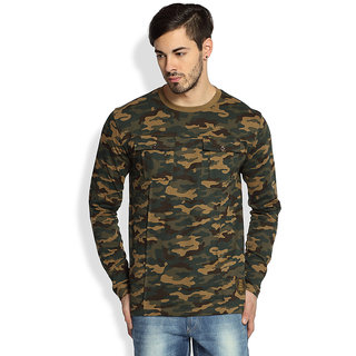 Difference of Opinion Camouflage T-Shirt For Men