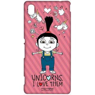 Agnes Unicorn Love - Sublime Case For Sony Xperia M4 Aqua
