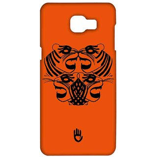 KR Orange Tiger - Sublime Case For Samsung A9 Pro
