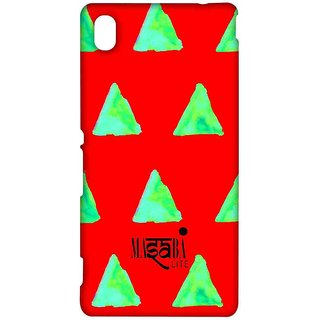 Masaba Red Cone - Sublime Case For Sony Xperia M4 Aqua