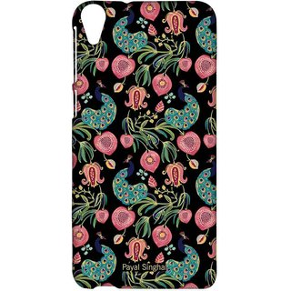 Payal Singhal Anaar And Mor Black - Sublime Case For HTC Desire 820