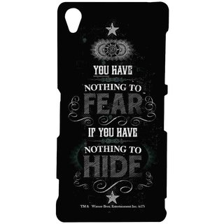 Nothing To Hide  - Sublime Case For Sony Xperia Z3