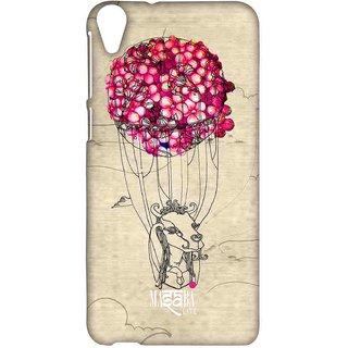 Masaba Pink Parachute - Sublime Case For HTC Desire 820
