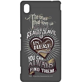 Find Loved Ones Grey  - Sublime Case For Sony Xperia M4 Aqua