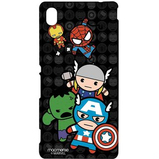 Kawaii Art Marvel Comics - Sublime Case For Sony Xperia M4 Aqua