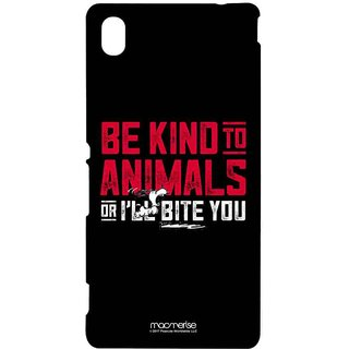 Be Kind To Animals  - Sublime Case For Sony Xperia M4 Aqua