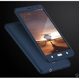 Redmi Note 4 Back Cover 360 DEGREE PROTECTION FRONT+BACK COVER CASE Blue