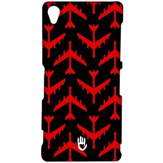 KR Red Planes - Sublime Case For Sony Xperia Z3