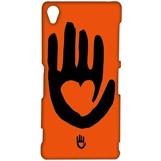 KR Black Hand - Sublime Case For Sony Xperia Z3
