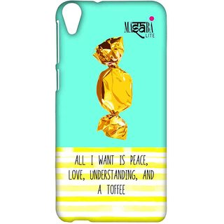 Masaba Peace Love Toffee - Sublime Case For HTC Desire 820