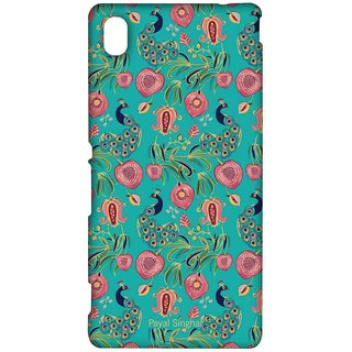 Payal Singhal Anaar And Mor Teal - Sublime Case For Sony Xperia M4 Aqua
