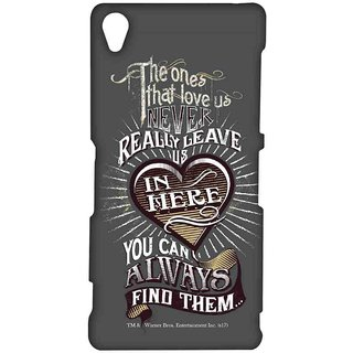 Find Loved Ones Grey  - Sublime Case For Sony Xperia Z3