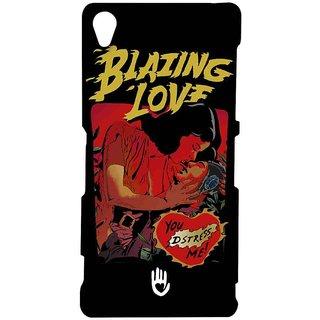 KR Blazing Love Black - Sublime Case For Sony Xperia Z3