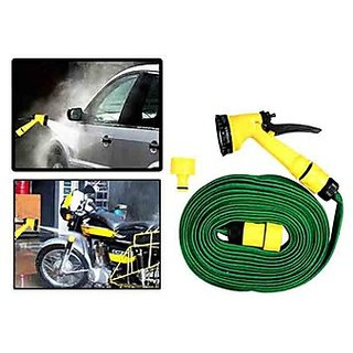 Takecare Pressure Washing Multifunctional Water Spray Jet Gun 10 Meter Hose Pipe