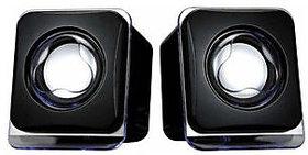 E-O2B 2.0 Mini Desktop Speakers - Black