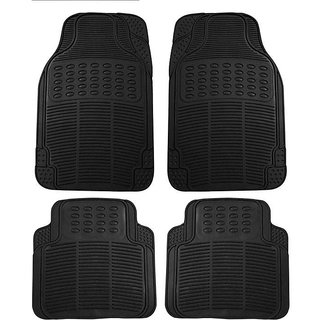 Car Foot Mats Black For Maruti WAGONR