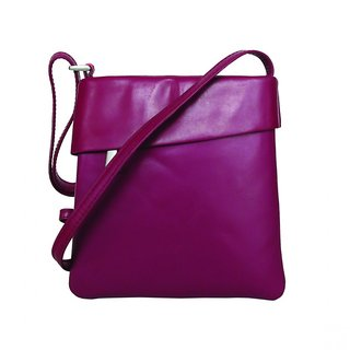 1797 Fuchsia Genuine Leather Sling Bag