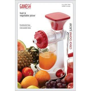 Ganesh New Improve Fruits  Vegetables Juicer Multicolor