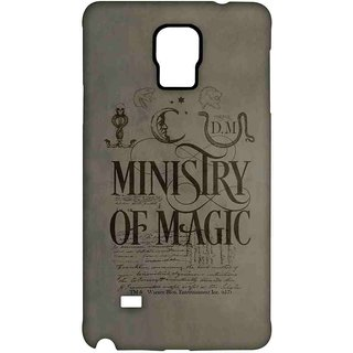 Ministry Of Magic  - Sublime Case For Samsung Note 4