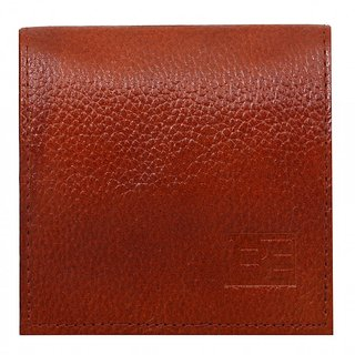 BE Genuine Leather Men's Card Holder  - Tan