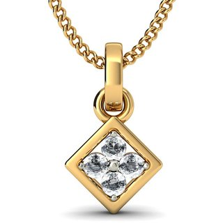 THE MIRIAN PENDANT_DIAMOND PENDANT IN 18KT YELLOW GOLD