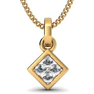 THE MIRIAN PENDANT_DIAMOND PENDANT IN 18KT YELLOW GOLD