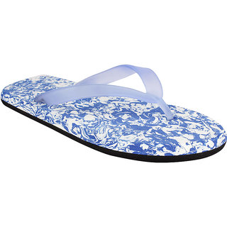 STYLE HEIGHT Men's Blue Slippers