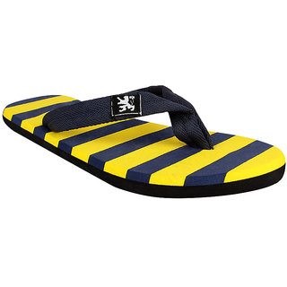 STYLE HEIGHT Men's Yellow Slippers
