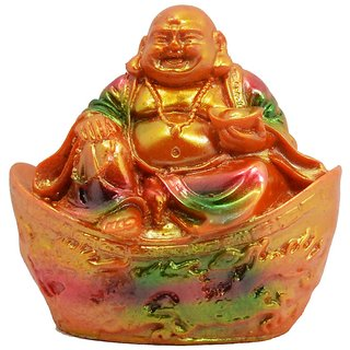 Laughing Buddha sitting for home dcor good according to vastu