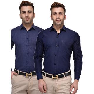 Hangup Regular Cotton PolyCotton Shirt PolyCotton Shirt for Men