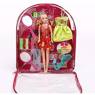 DDH Beautiful Doll With Makeup set(Multicolor)